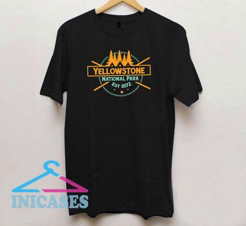 Yellowstone National Park Est 1872 T Shirt