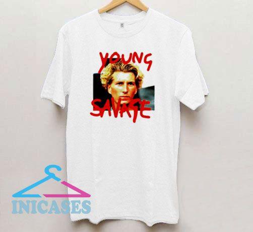 Young Savage Retro T Shirt