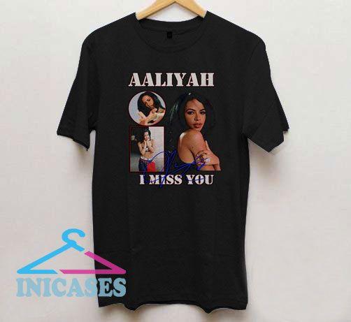 Aaliyah I Miss You T Shirt