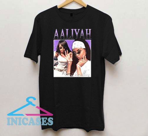 Aaliyah One In A Million T Shirt