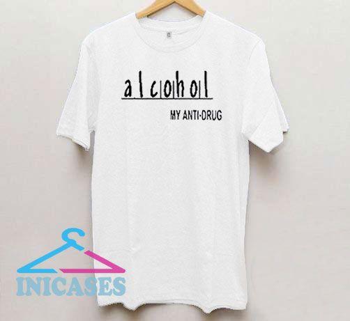 Alcohol Anti Drug Warning T Shirt
