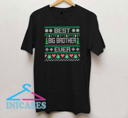 Best Big Brother Ever Christmas Funny T Shirt