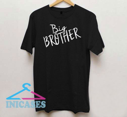Big Brother Lettering T Shirt