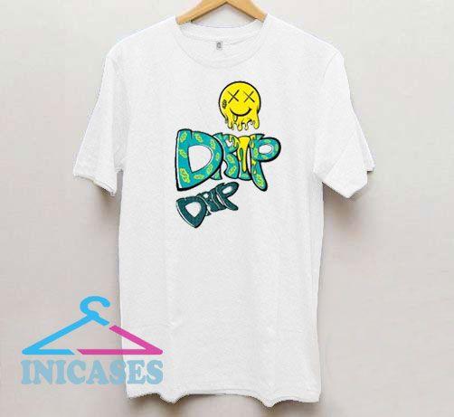 Emoji Smiling Of Drip Drip T Shirt