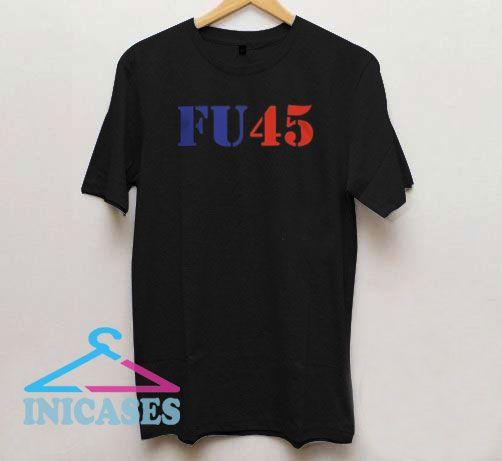 FU45 Font Colors Logo T Shirt