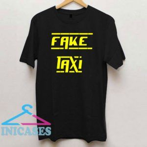 Fake Taxi Letter T Shirt