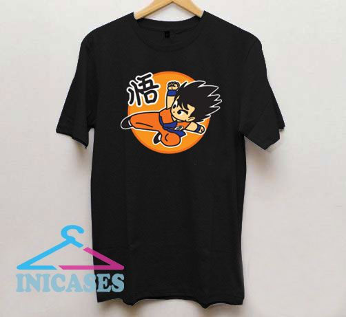 Flying Kick Goku T Shirt