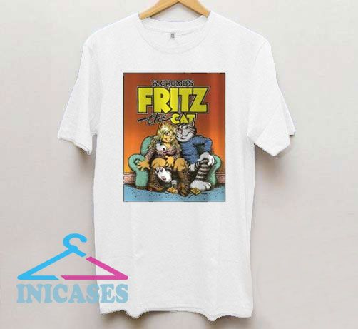 Fritz The Cat Vintage Movie T Shirt