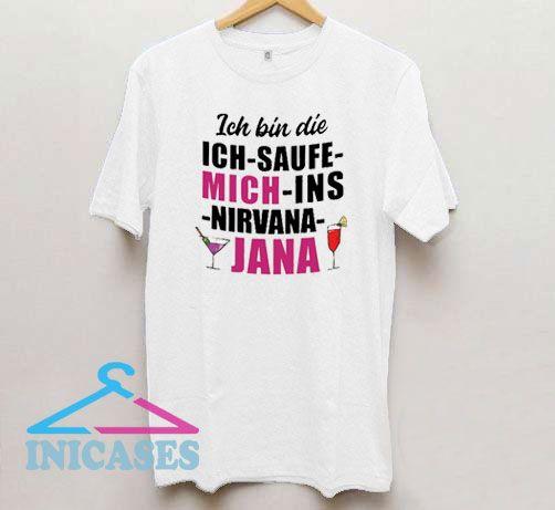 Ins Nirvana Jana T Shirt