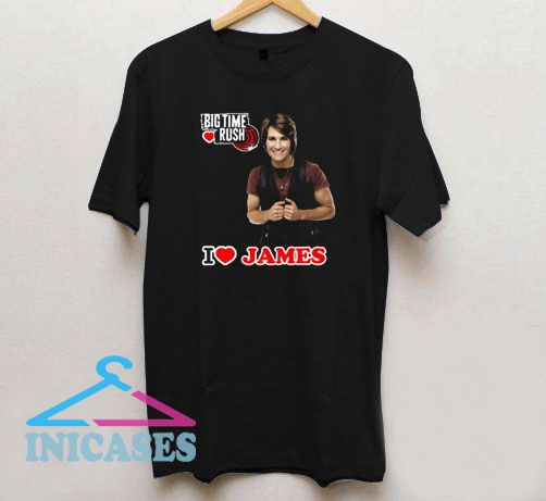 James Lovers Big Time Rush T Shirt
