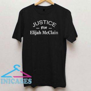 Justice For Elijah McClain Letter T Shirt