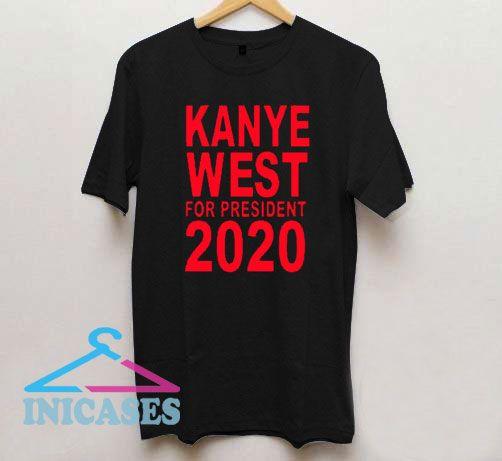 Kanye West President 2020 T Shirt