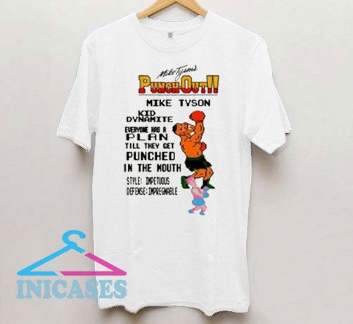 Mike Tyson Punchout In The Mouth T Shirt