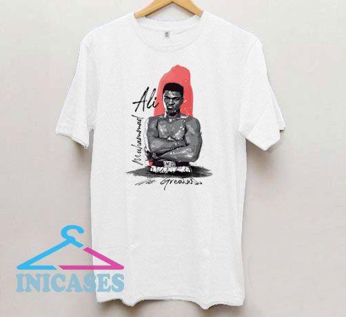 Muhammad Ali The Greatest Boxer T Shirt