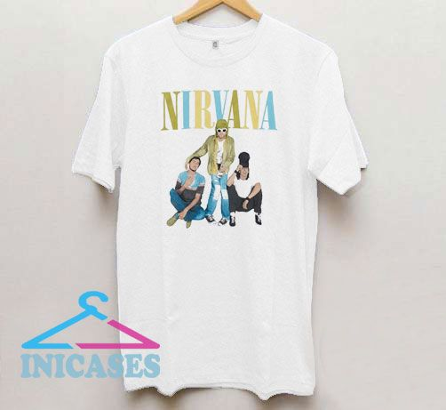 Nirvana Photo Vintage T Shirt