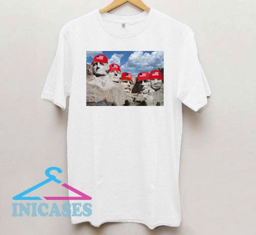 Red Hats on Rushmore T Shirt