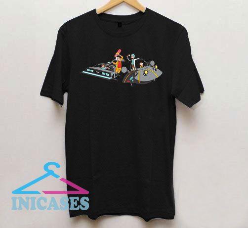 Rick vs Doc Brown T Shirt