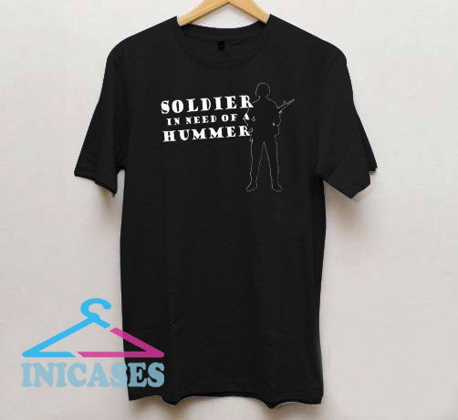 Soldier Quote Style T Shirt
