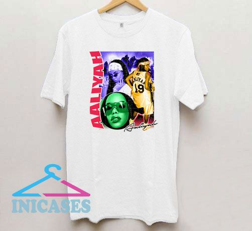 Aaliyah Vintage Style Rap T Shirt