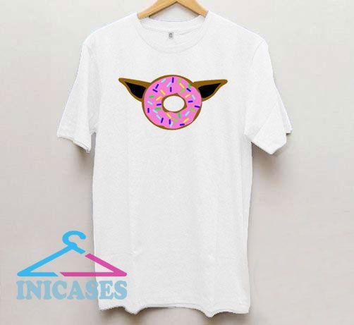 Baby Yoda Baby Donut T Shirt