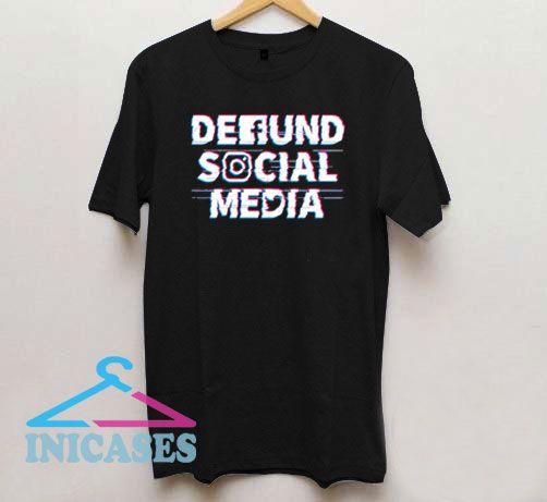 Defund Social Media Basic T Shirt