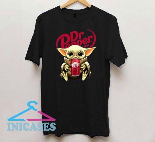 Dr Pepper Baby Yoda T Shirt