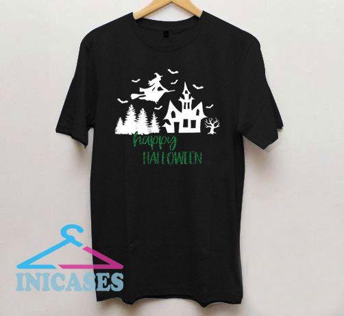 Halloween Home Castle T Shirt