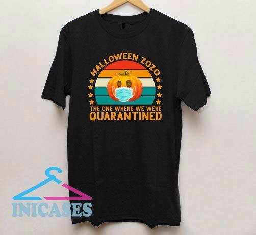 Halloween Quarantine T Shirt