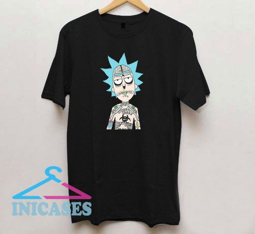 Rick And Morty Tattoo T Shirt