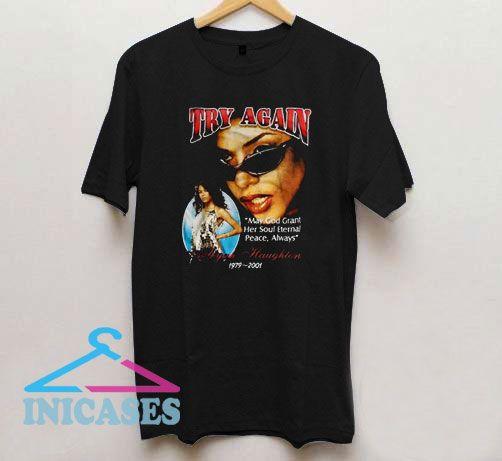Vintage Style Aaliyah T Shirt
