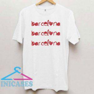 Barcelona Spain T Shirt