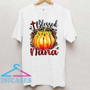 Blessed Pumpkin Leopard Plaid Shirt