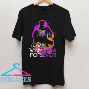 Chadwick boseman 42 Wakanda forever T Shirt