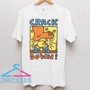 Crack Down K Haring T Shirt