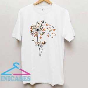 Dandelion Chicken Flower Famer T Shirt