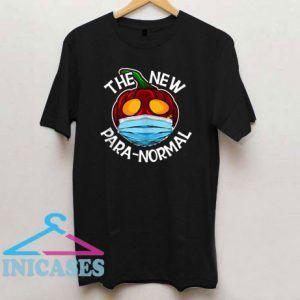 Face Mask Pumpkin New ParaNormal T Shirt