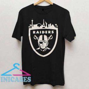 Las Vegas Raiders Skyline T Shirt