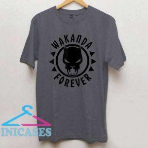 Marvel Black Panther Icon Wakanda Forever T Shirt