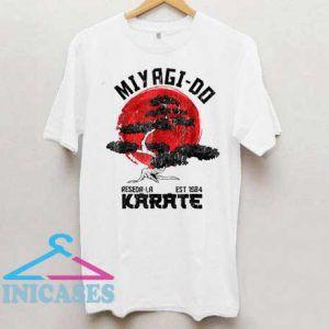 Miyagi Do Reseda La Est 1984 Karate T Shirt