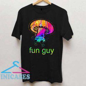 Mushroom Fun Guy T Shirt