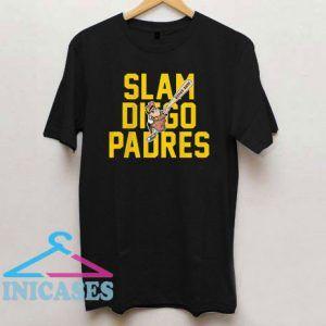 Slam Diego Padres Bombs Away T Shirt
