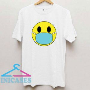 Smiley Face Mask T Shirt