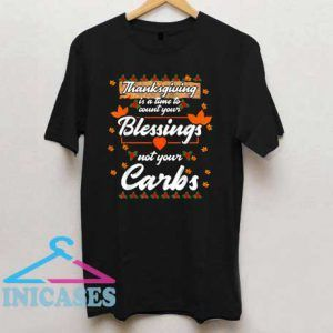 Time To Count Your Blessings T Shirt
