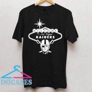 Welcome To Las Vegas Raiders T Shirt