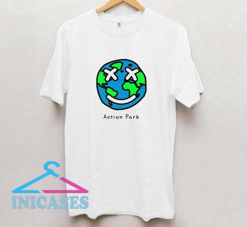 Action Park Earth T Shirt