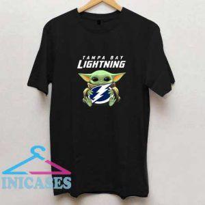 Baby Yoda Tampa Bay Lightning T Shirt