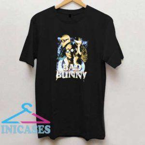 Bad Bunny Triple Photo T Shirt