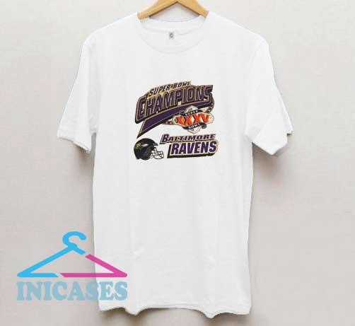 Baltimore Ravens Super Bowl T Shirt