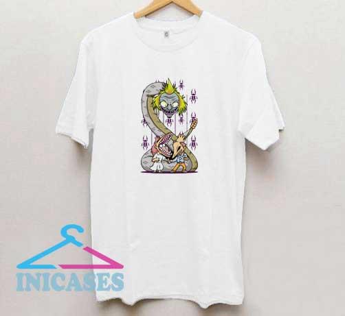 Beetlejuice Snake Graphic T Shirt