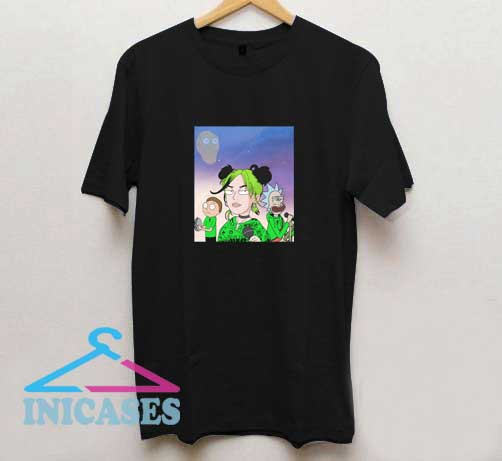 Billie Eilish Rick Morty T Shirt